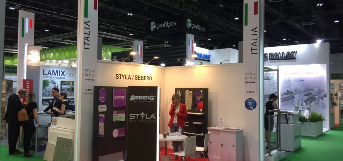 Seberg e Styla at Big5 in Dubai 1