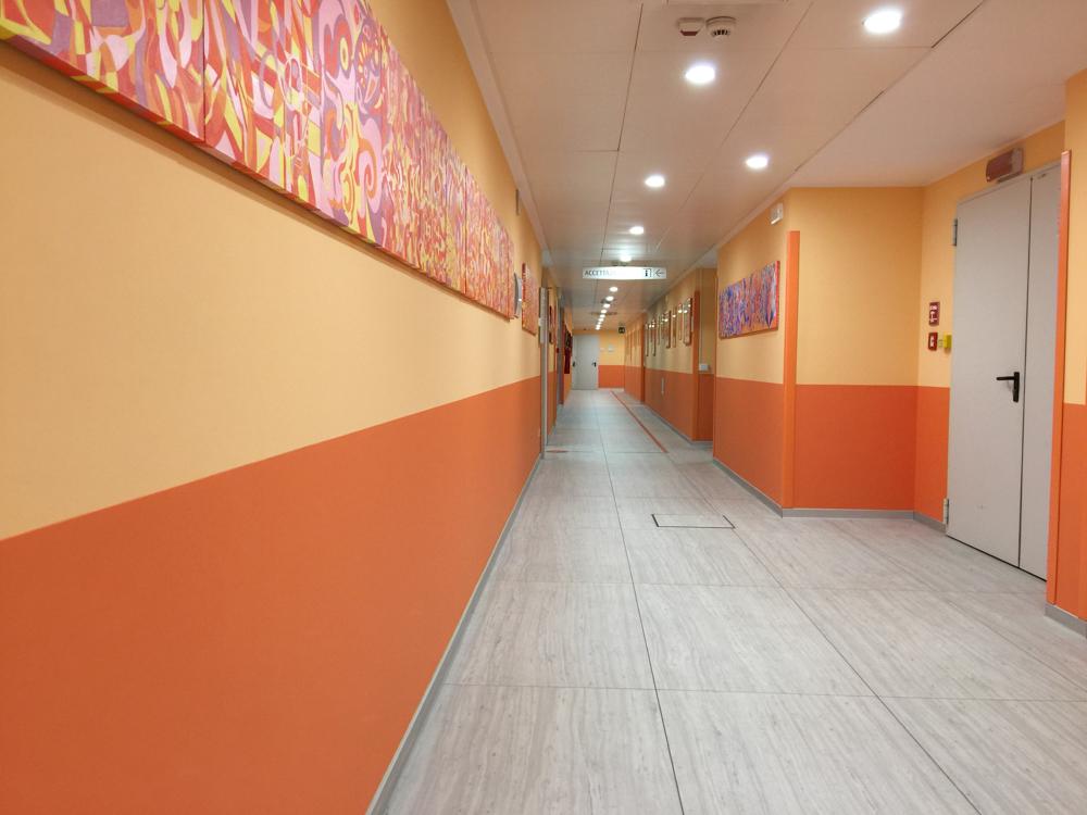 Gruppo San Donato, Ospedale San Raffele, Odontoiatria, styla protezioni murali e accessori bagno lifebland corrimano (1 di 1)